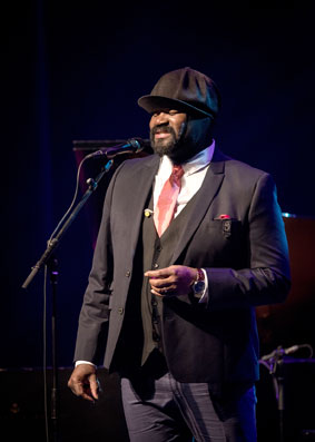 Gregory Porter © Benoît Rousseau by courtesy of Festival International de jazz de Montréal