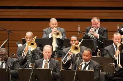 Lincoln Center Jazz Orchestra-Wynton Marsalis © Denis Alix by courtesy of Festival International de jazz de Montréal