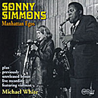 1969-70. Sonny Simmons, Manhattan Egos, Arhoolie