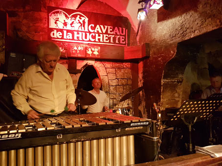 La Huchette, Dany Doriz et Didier Dorise, 6 septembre 2018 © Alexandra Green