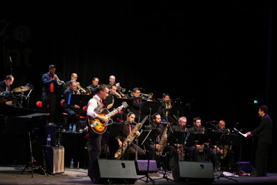 Django Revisited Big Band © Maurice Salvadori by courtesy