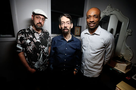 John Hébert, Fred Hersch et Eric McPherson © Photo X, by courtesy of Eric McPherson