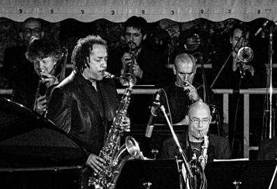 Ricky Ford & Ze Big Band, Toucy 2012 © Mathieu Perez