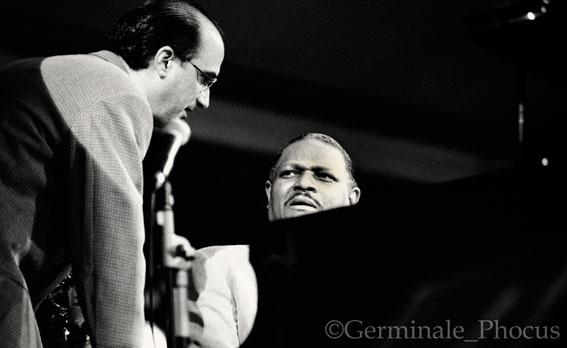 Michael Brecker et McCoy Tyner © Umberto Germinale