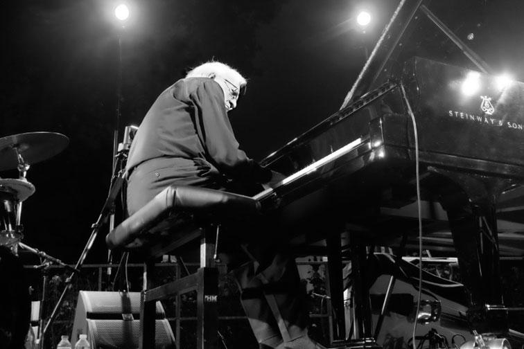 Roger Mennillo, Jazz à Beaupré, 8 juillet 2017 © Ellen Bertet