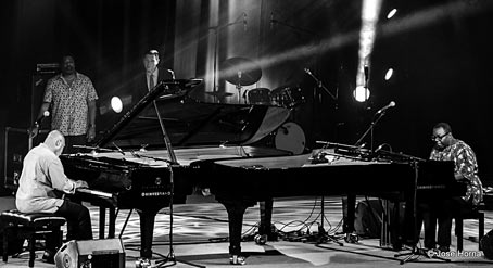 Kenny Barron, Eric Reed, Benny Green, Cyrus Chestnut, Vitoria 2017 © Jose Horna
