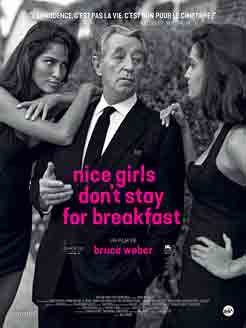 Robert Mitchum, Nice Girls Don't Stay for Breakfast, Film par Bruce Weber