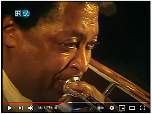 1986. Curtis Fuller, image extraite de YouTube