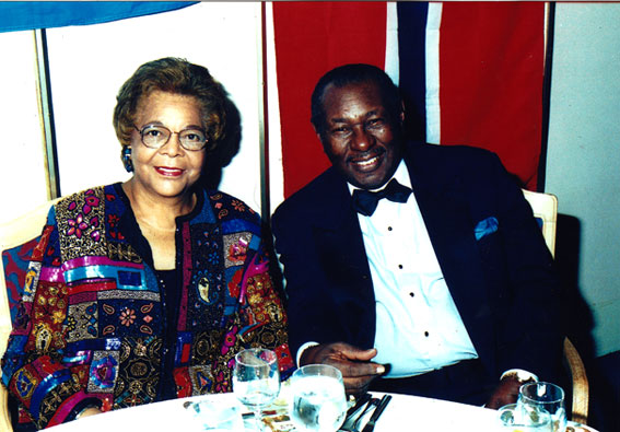 Margaret et Freddy Cole © Photo X by courtesy of Suzi Reynolds