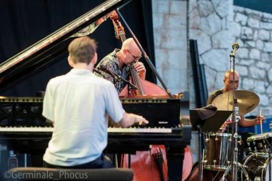 Fred Hersch Trio avec John Hébert et Eric McPherson, Nice Jazz Festival 2019 © Umberto Germinale