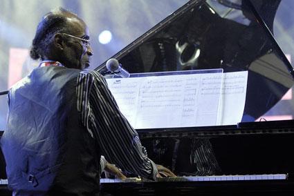 Johnny O'Neal, Jazz à Vienne 2015 © Pascal Kober