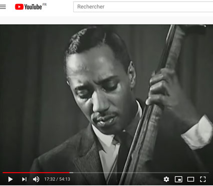 Jimmy Merritt, Bruxelles, 1958, Jazz Icons/Youtube