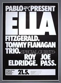 1976. Ella Fitzgerald, avec le trio de Tommy Flanagan, Roy Eldridge et Joe Pass