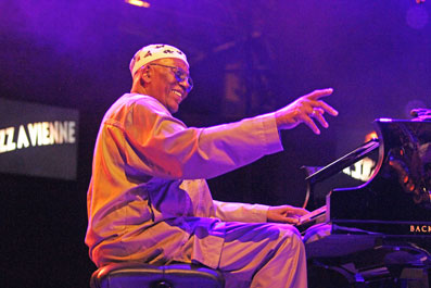 Randy Weston, Vienne 2016 © Guy Reynard