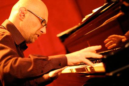 Laurent Coq, au Jazz Standard, New York, décembre 2012 © Christopher Drukker by courtesy of Laurent Coq