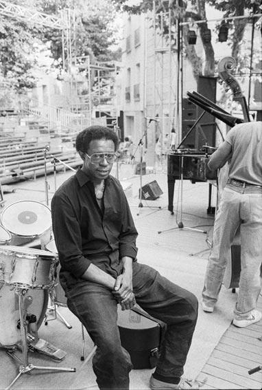 Louis Hayes, Martigues 1986 © Ellen Bertet