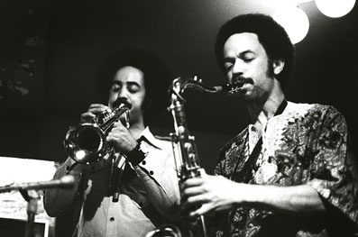 Cecil et Ron Bridgewater, Boomers, NYC, été 1976 © Tom Marcello by courtesy