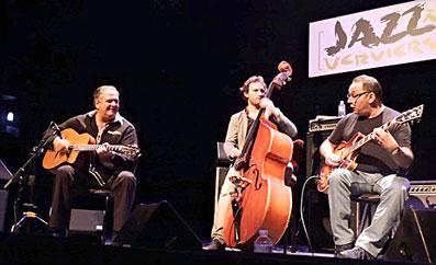 Hono Winterstein, William Brunard, Biréli Lagrène © Jérôme Partage