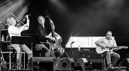 Jean-Luc Ponty, Kyle Eastwood, Biréli Lagrène, Vitoria 2017 © Jose Horna