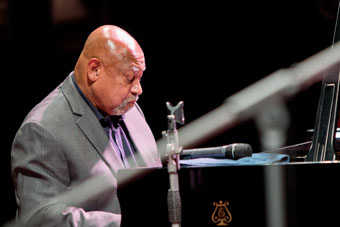 Kenny Barron ©Gianfranco Rota by courtesy of Bergamo Jazz