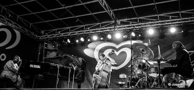 Cyrus Chestnut Trio: Buster Williams (b), Lenny White (dm), San Sebastian, Espagne, 2016 © Jose Horna