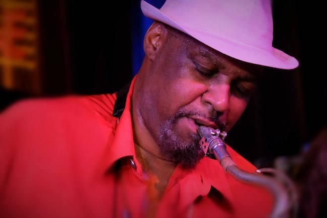 Detroit Gary Wiggins, Jazz Club A-Trane, Berlin, Allemagne, 2017 © Anja Gsottschneider@chakchak.de by courtesy
