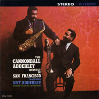 1959. The Cannonball Adderley Quintet in San Francisco