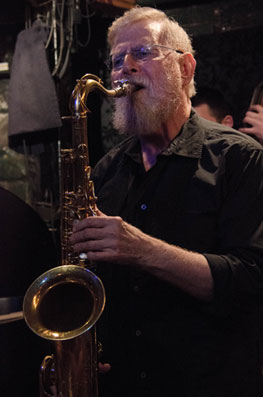 Lew Tabackin au Small's, New York, 2014 ©Mathieu Perez