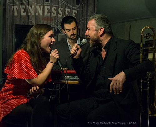 Ellen Birath, César Pastre et Paddy Sherlock au Tennessee (octobre 2016) @ Patrick Martineau