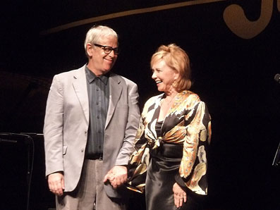 Ken Werner et Roseanna Vitro © Serge Baudot