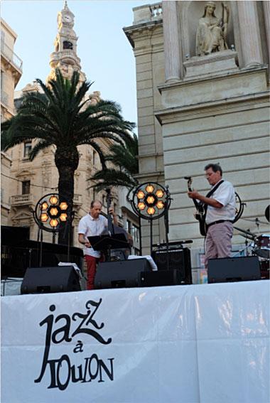 Louis et Philippe Petrucciani, Jazz à Toulon, 2019 © Ellen Bertet