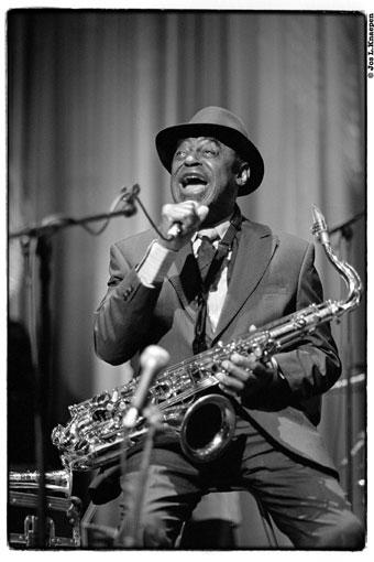 Archie Shepp, Jazz à liège 2014 © Jos Knaepen