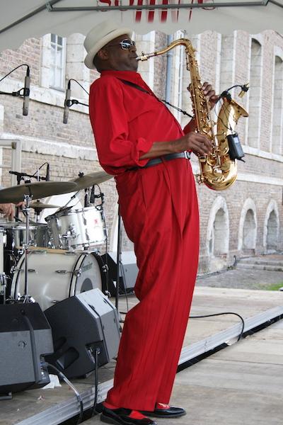 Detroit Gary Wiggins, Festival de Saint-Riquier (80), 28 juin 2009 © Gigi Chauveau by courtesy