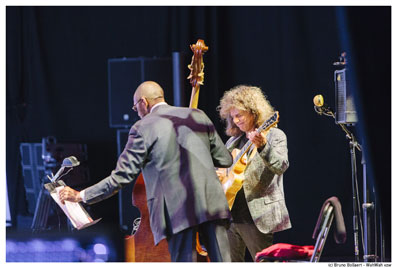 Ron Carter-Pat metheny, Gent Jazz 2016 © Bruno Bollaert by courtesy of Gent Jazz