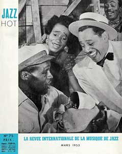 Jazz Hot n°75, mars 1953, couverture consacrée au Porgy and Bess avec Cab Calloway