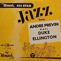 1946. André Previn Plays Duke Ellington, Monarch