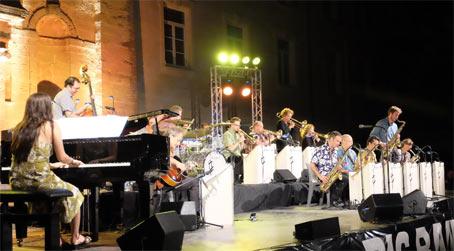 François Laudet Big Band, Pertuis 2017 © Ellen Bertet