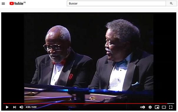 1993, Junior Mance-Ray Bryant Duo, Tokyo, «ßlue Monk» © YouTube