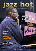 George Cables, Couverture de Jazz Hot n°680 © Pascal Kober
