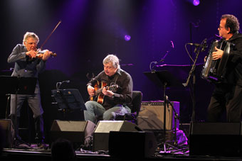 Didier Lockwood, Philippe Catherine, Richard Galliano © Guy Reynard