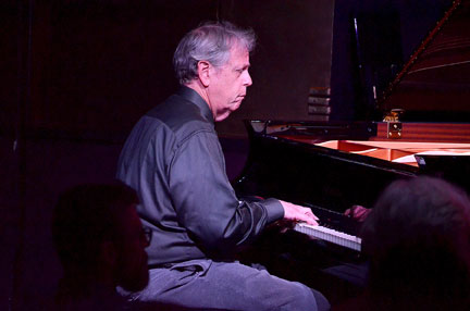 Kenny Werner at Ronnie Scott's, London, 25 April 2014 © David Sinclair
