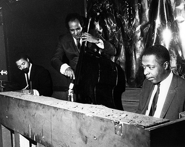 Jimmy Cobb, Walter Booker, Wynton Kelly, The Dom, New York City, mid 1960's © Raymond Ross Archives/CTSIMAGES