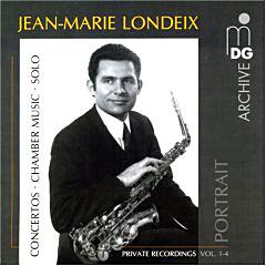Un enregistrement de Jean-Marie Londeix
