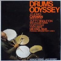 1974. Jo Jones/Zutty Singleton/Cozy Cole/Michael Silva, Drums Odyssey