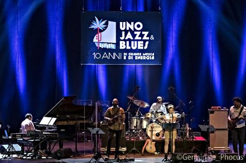 Herbie Hancock et ses musiciens, Sanremo, 31 octobre 2019 © Umberto Germinale