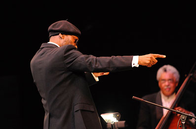 Charles Tolliver et Rufus Reid, Thelonious Monk at Town Hall, 26 février 2009 © photo X by courtesy of Duke University