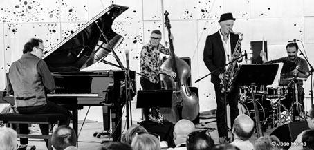 Iñaki Salvador Quartet, Monk at 100 © Jose Horna