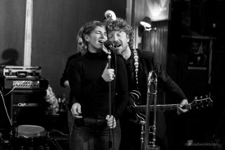 Paddy Sherlock et Aurore Voilqué au Coolin © Danielle Voirin, by courtesy