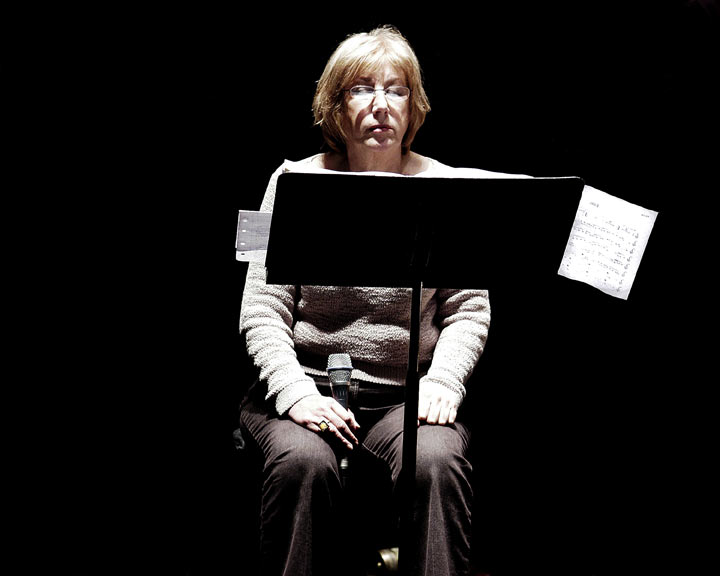 Norma Winstone, at Queen Elizabeth Hall, 14 January 2005 © David Sinclair
