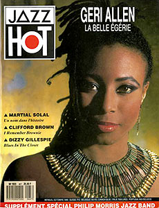 Geri Allen en couverture du Jazz Hot n°467, 1989